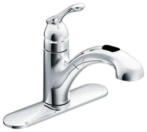 moen 87010 banbury single handle pullout kitchen faucet in
