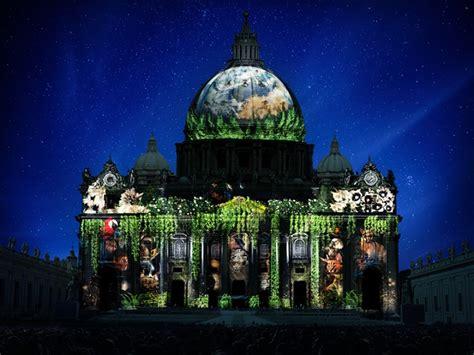 cupola ledusa lo spettacolo della natura sulla basilica di san pietro