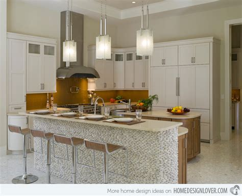 Easy Backsplash Ideas For Kitchen 15 distinct kitchen island lighting ideas home design lover