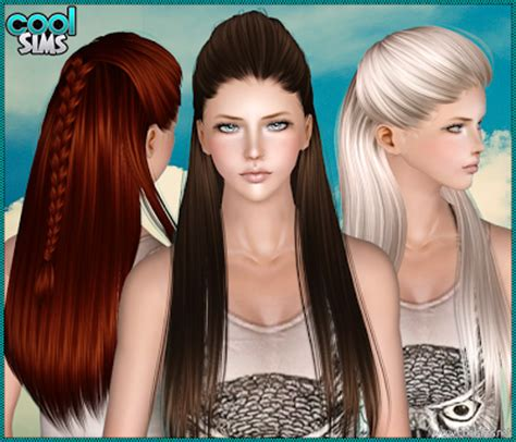 sims 3 custom content hair sims 3 female hair coolsims 105 hair custom content download