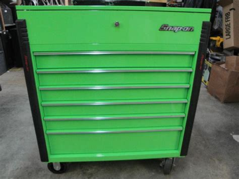 Snap On 6 Drawer Tool Box purchase snap on tool box 6 drawer green model krsc46fpjj with key motorcycle in