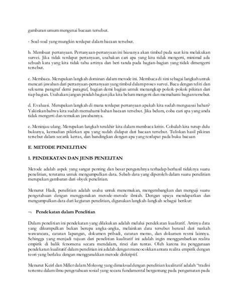Metode Penelitian Survei Ed Revisi contoh penelitian