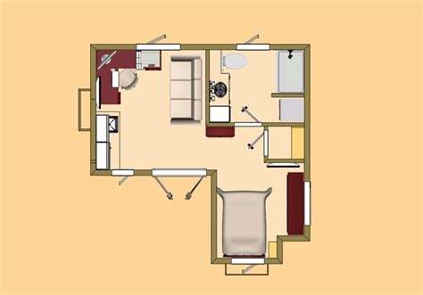 guest house floor plan studio apartment pinterest exceptional studio house plans 9 small studio guest house