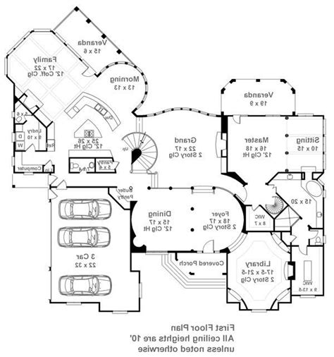 10 E Ontario St Floor Plans by House Pontarion House Plan Green Builder House Plans