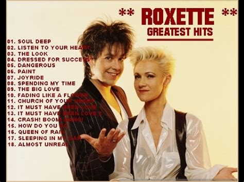 Cd Roxette The Ballad Hits 1 roxette greatest hits