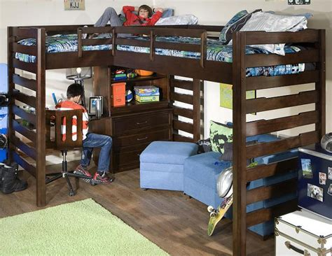 boys bunk bed with desk state corner loft bed i need this for the boys room