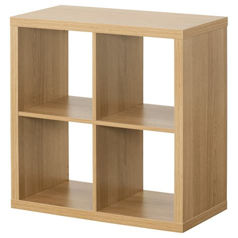 ikea shelving kallax shelving unit oak effect 77x77 cm ikea