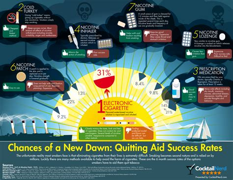 the best way to quit what s the best way to quit tobacco infographic