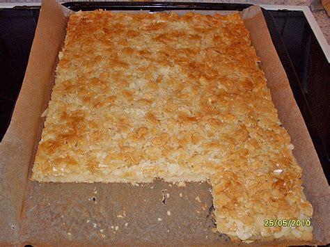 kuchen mit margarine butter mandel kuchen rezept mit bild