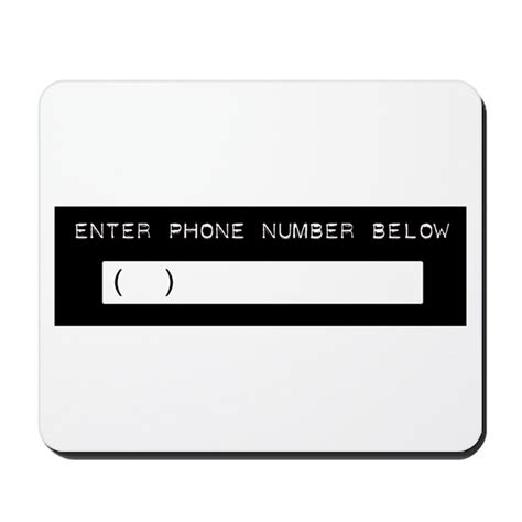 Operation Par Detox Phone Number by Enter Your Phone Number Mousepad By Rockstagegear