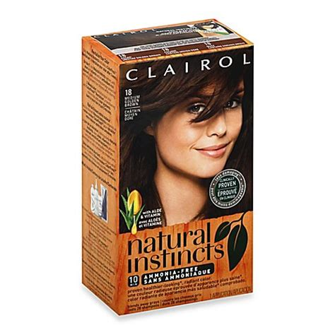 Freeo Sirsak Permented Herbal clairol 174 instincts ammonia free semi permanent color in 18 pecan medium golden brown