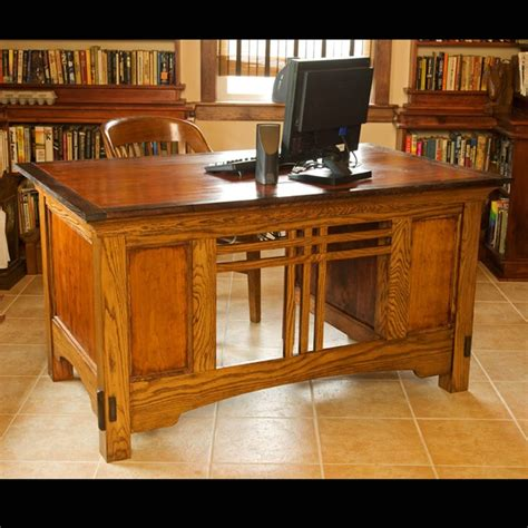 arts and crafts desk traditional furniture