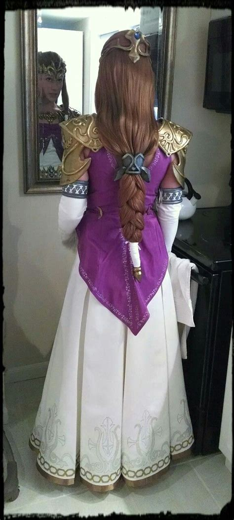 princess zelda hair back of zelda s dress and hair zelda pinterest posts