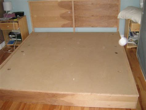 Diy King Platform Bed How To Build A Cheap King Size Platform Bed Woodworking Projects