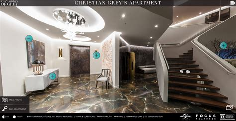 christian grey apartment fifty shades of furniture film and furniture
