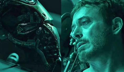 avengers endgame trailer hint tony stark