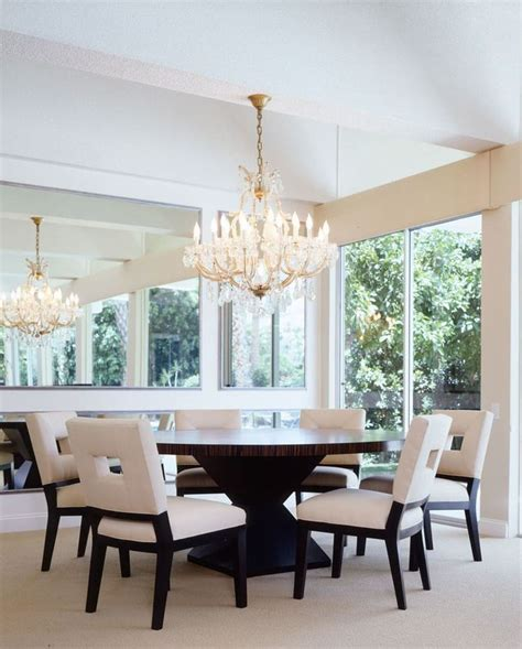 oval dining table pedestal base contemporary dining room
