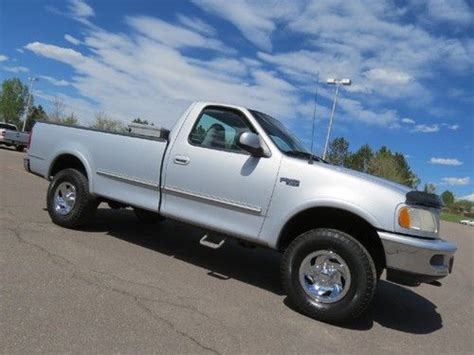 f150 long bed purchase used 1997 ford f 150 regular cab long bed 4x4 xlt