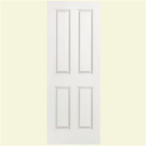 4 panel slab doors interior closet doors doors masonite 30 in x 80 in solidoor smooth 4 panel solid