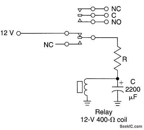 relay capacitor oscillator low frequency relay oscillator oscillator circuit signal processing circuit diagram