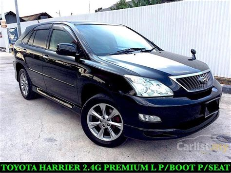 toyota harrier 2008 toyota harrier 2008 240g 2 4 in selangor automatic suv