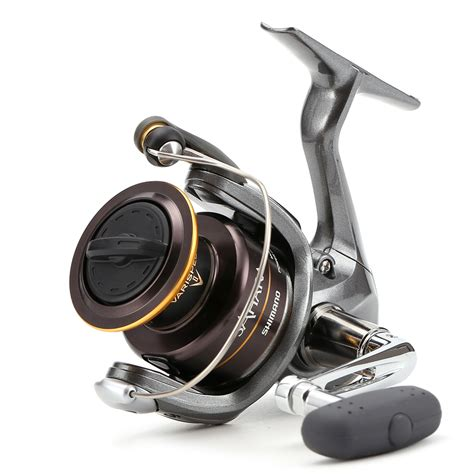 Reel 4000fe 100 original shimano 500fe 4000fe spinning fishing reel 3 1bb xgt7 graphite frame front