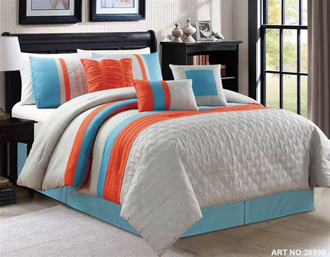 orange and blue bedding blue and gray comforter sets king size 2017 2018 best