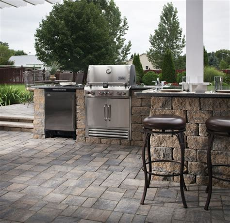 ideen k 252 che outdoor - Outdoor Küche Backsplash Ideen