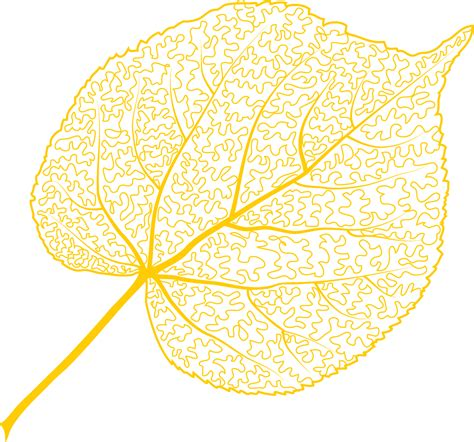 Home Design Gold Free Download aspen leaf clip art 24