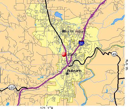 auburn california map