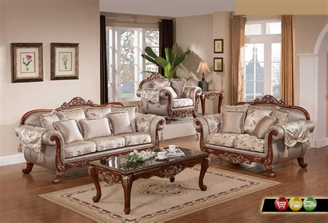 livingroom furniture luxurious traditional formal living room furniture exposed carved wood gold accents