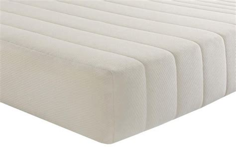 Silentnight Comfortable Foam Rolled Mattress by Silentnight 3 Zone Memory Foam Single Rolled Mattress 90