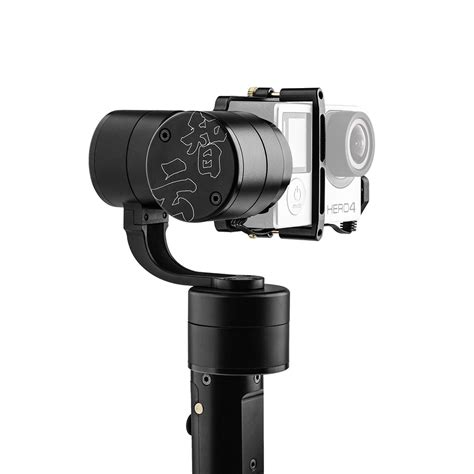 Zhiyun Z1 Evolution 3 Axis Gimbal For Gopro With 4 Way Joystick Black zhiyun z1 evolution 3 axis handheld stabilizer gimbal for
