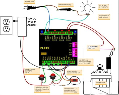 24 volt ac relay wiring diagram 31 wiring diagram images