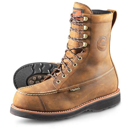 setter s boots s setter 174 9 quot waterproof wingshooter boots brown