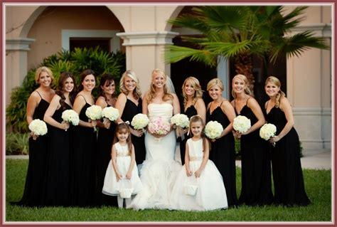 black bridesmaid dresses for every style of wedding wedding dresses australia 2016 beautiful black bridesmaid