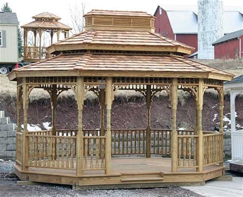10 X 12 Wood Gazebo Do It Yourself Gazebo Kits Alan S Factory Outlet