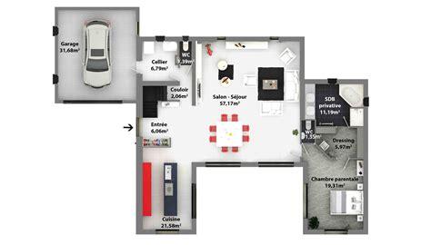 Plan De Maison Moderne by Plans De Maisons Constructeur Maison Laure