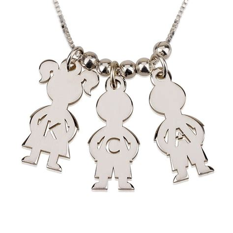Family Home Silver Charm P 273 silver name charms boy necklace engraved family necklace ebay