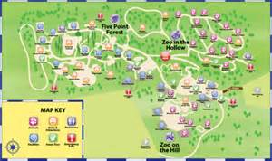 happy map happy hollow park and zoo plan your visit at happy