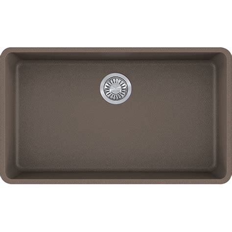 franke granite kitchen sinks franke kbg11031sto kubus 32 3 8 inch undermount single