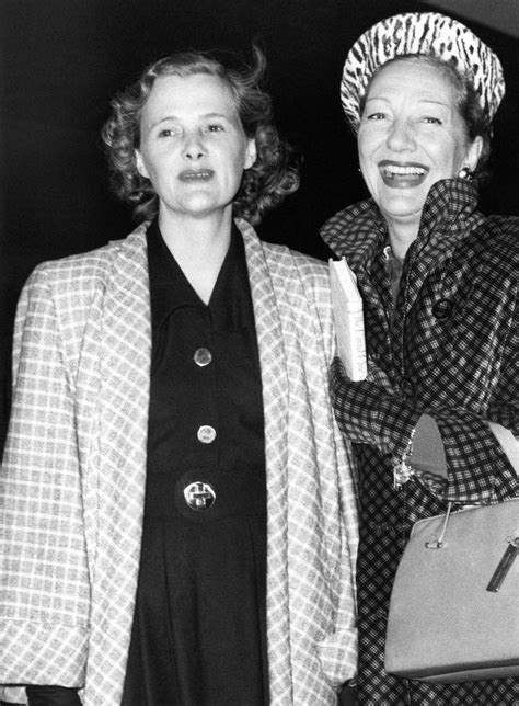 Daphne du Maurier and Gertrude Lawrence, supposedly had an