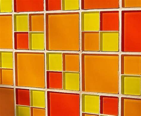 orange backsplash tile awesome orange kitchen backsplash kitchens