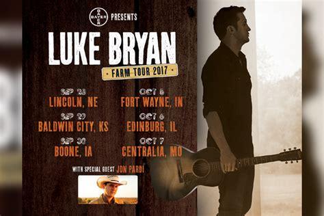 luke bryan farm tour lineup luke bryan says farm tour is rewarding and challenging