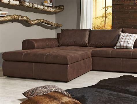 sofa braun wohnlandschaft 290x213 sofa braun polsterecke