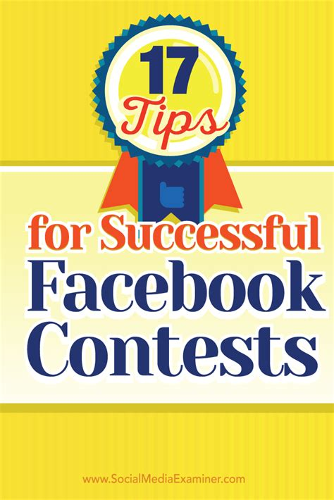 Facebook Giveaway Guidelines - 17 tips for successful facebook contests social media examiner