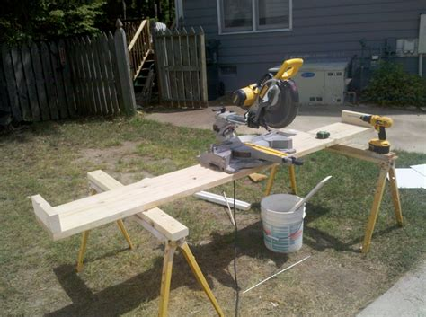 build a saw bench how to make a saw bench cut board