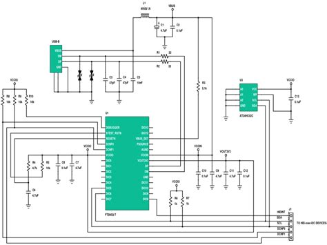 usb to rs232 converter circuit diagram style by