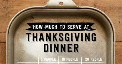 Thanksgiving Dinner Planning How Much To Serve Whole | honey we re home thanksgiving planning preparations
