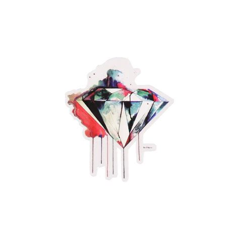diamond supply co i art you sticker diamond supply and